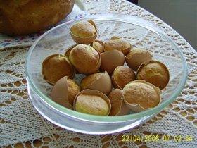 Кексики в яичных скорлупах