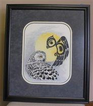 Snowy Owl - framed