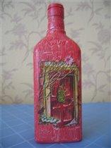 Зимняя бутылочка
