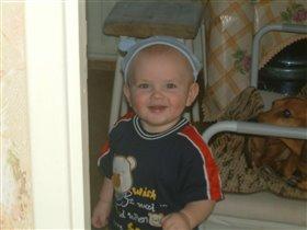 мальчик в шапочке