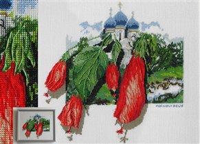 Вышивальный конкурс  'Я цветочки вышивала...'