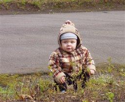 мой малыш гуляет :)