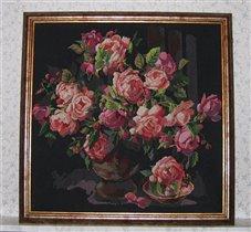 Оформленные розы.
