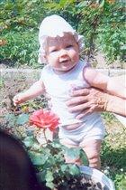 Цвету , как роза в саду!!!