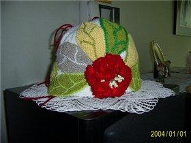 Креативная шапочка фри-форм