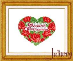020_сердце из роз