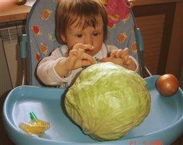 Крошка с капустой