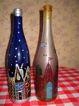 Бутылки: зима-лето или день-ночь