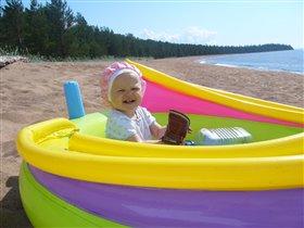 Вот так весело на море!