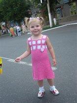 Платье для моей маленькой модницы