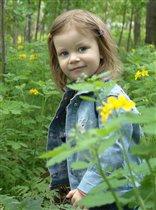 Лесной портрет в начале лета.
