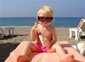 Пляжная жизнь Алины