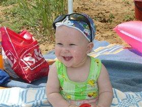 Я сижу на пляжу!!!