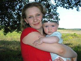 Мы с мамой на прогулке