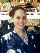 русская красавица в кимоно