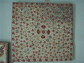Нуратинская вышивка на конверте для белья 19 век