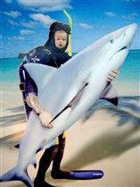 Дарья-победитель акул