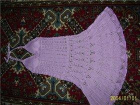Платье на основе схем от Lelu (юбка)