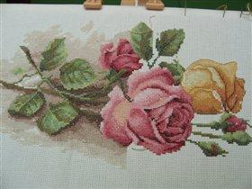 Розы почти без бека