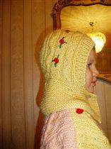 Зимняя шапочка шлем