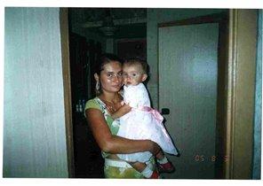 Алиночка и мамочка