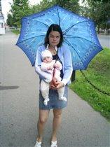 Мам, отпусти зонтик, я его держу!!!