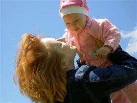 Пусть всегда будет солнце, пусть всегда будет небо, пусть будет мама, пусть всегда буду Я!