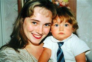 Саша Миллер с мамочкой