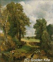 593 John Constable. The Cornfield