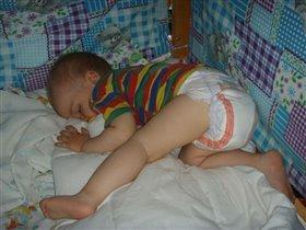 Сухая попка - сладкие сны...