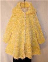 Пальто-свингер для девочки 5-6 лет