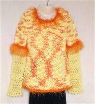 Джемперок комбинированный