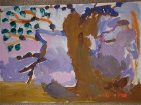 Портрет старого дерева