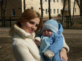 Я и мой сынуля - сладкая парочка.