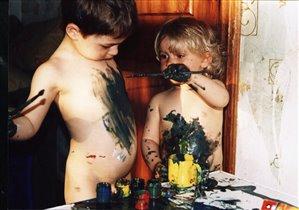 Вот такие мы художники.