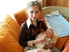 И друг, и маленькая мама