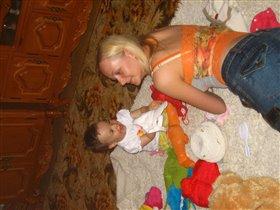 Сашенька и Мама.