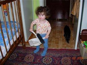 ребенки - они ч грязи расти не могут! ребенкам чистота нужна !!!