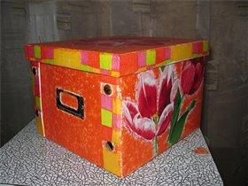 Коробочка для дочкиных резиночек-заколочек