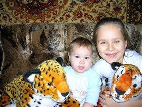 Ап! И тигры у ног моих сели