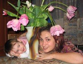 Две девицы под цветком :)