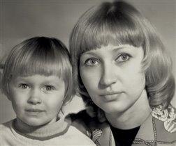 Мамочка с малышкой