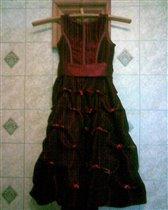 платье для девочки  рост 110