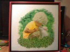 Малыш и кролик