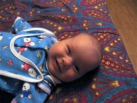 Первая улыбочка!