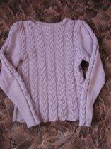 Сиренивый свитер