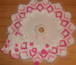 poncho roza 1