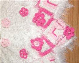 poncho roza 3