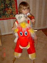 Я и все что я люблю - киса, бутылка и лошадь