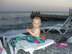 засиделся на пляже